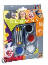 Ses Clowny Schmink 4 + 3 Kleuren