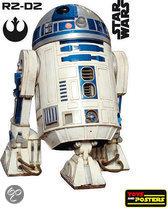 Star Wars muurstickers: R2-D2 muursticker Lifesize scale 1:1