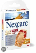 3M Nexcare Active Maxi - 5 stuks - Pleisters
