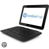 HP SlateBook 10-H000EB - Hybride Laptop Tablet - Azerty