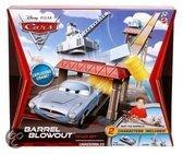 Cars 2 Barrel Blowout Track Set