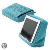 Bosign Tablet Kussen Hitech voor iPad/tablet pc Turquoise/Zwart- met BINNENZAK