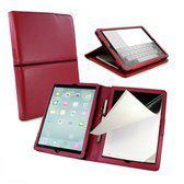 Tuff-Luv Scribe 2 folio Faux Leather case cover for Apple iPad Air - Blood Red