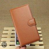 Wallet Stand Case Nokia Lumia 930 Bruin