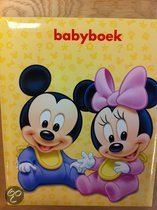 Babyboek Disney Mickey en Minnie