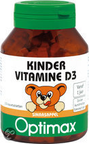 Optimax Kinder Vitamine D - 100 Tabletten