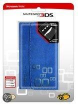 Foto van Madcatz Microsuede Wallet 3DS - Blauw