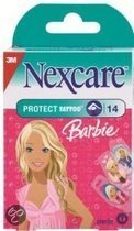 3M Nexcare Protection Strip Barbie - 14 stuks - Wondpleister