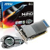 MSI N210-MD1GD3H/LP - Graphics card - GF 210 - 1 GB DDR3 - PCIe 2.0 x16 low profile - DVI, D-Sub, HDMI