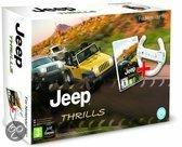 Foto van Jeep Thrills + Racestuur (bundel) Wii