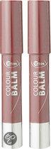 Etos Colour Balm 004 - Rood - 2 stuks - Lippenstift