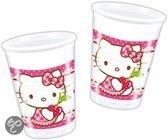 Bekertjes Hello Kitty 200 ml: 6 stuks (81793P)
