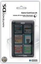 Game Card Case Voor 24 DS Games - Zwart