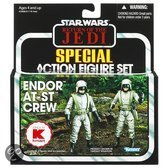 Star Wars Vintage Collection AT-ST Action Figure 2-pack Exclusive ROTJ case