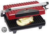 Bestron Contactgrill Panini APG100R - Rood
