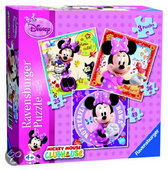 Ravensburger 3-in-1 Puzzel - Minnie Mouse
