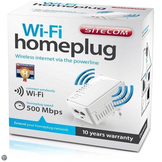 Sitecom LN-554 Wi-Fi Homeplug - 500 Mbps