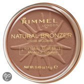 Rimmel London Natural Bronzing Powder - 022 Sun Bronze - Bronzingpoeder & Blush