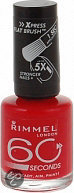 Rimmel 60 Seconds Finish - 315 Rock&Red - Rood - Nagellak