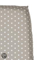 Cottonbaby Sterretjes - Hoeslaken Ledikant 60x120 cm - Zand