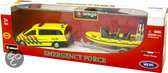Burago 1:50 Ambulance + Boot