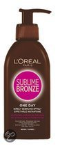 L'Oreal Paris Sublime Bronze - One Day - 150ml - Zelfbruinende crème