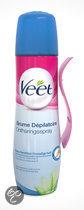 Veet Ontharingsspray Gevoelige Huid - 150 ml - Ontharingsspray