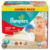Pampers Easy Ups - Maat 5 Jumbo box 54 st.