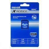Maxell SDHC 32GB Class 10