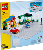 LEGO Basic Grote grijze grondplaat (48 x 48 noppen) - 628