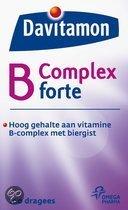 Davitamon B-Complex Forte Met Biergist - 100 Tabletten - Vitaminen