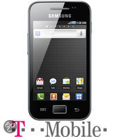 Samsung Galaxy Ace - Zwart - T-Mobile prepaid telefoon