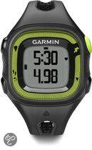 Garmin Forerunner 15 - GPS Sporthorloge voor Dames - Zwart/Groen