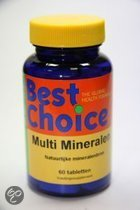 Best Choice Voedingssupplementen Best Choice Multi mineralen complex 60tab