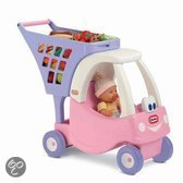 Little Tikes Cozy Coupe Shopping Cart Princess - Winkelwagen