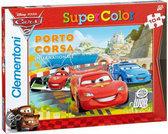 Clementoni Puzzel cars 2 104 stukjes - porto corsa