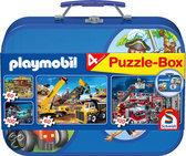 Schmidt Puzzel: Playmobil Puzzelkoffer