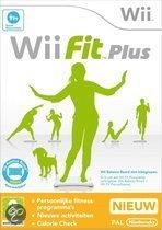 Foto van Wii Fit Plus + Balance Board Zwart