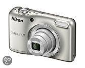Nikon COOLPIX L29 - Zilver + 4GB SD kaart & tasje t.w.v. 29,95