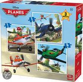 Disney 3in1 Planes - Puzzel