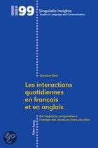 Les Interactions Quotidiennes En Francais Et En Anglais
