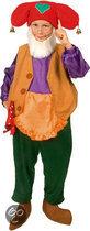 Kabouter Plop - Kostuum - Maat 110-128 - 4-7 jaar