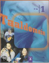 Taaldomein / 2 Hv halfjaardeel 1 / deel Leerlingenboek / druk 1