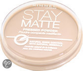 Rimmel Stay Matte Pressed Powder - 5 Silky Beige - Make-uppoeder