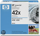 HP Q5942X Inktcartridge - Zwart / 2 Pack