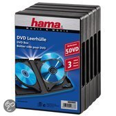 Hama 049686 Jewel DVD Box - Zwart