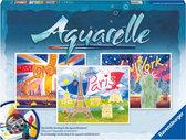 Aquarelle - Wereldsteden