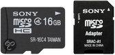 SR16A4     MEM MICROSDHC16GBSONY