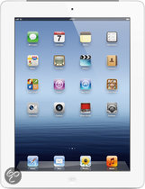 Apple iPad - met Retina-display - met 4G - 64GB - Wit - Tablet