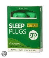 Get Plugged Sleep Plugs Oordopjes - 7 Paar